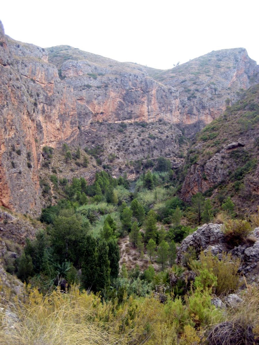 Chulilla - Gestalgar - Balneario de Chulilla - PR CV 76