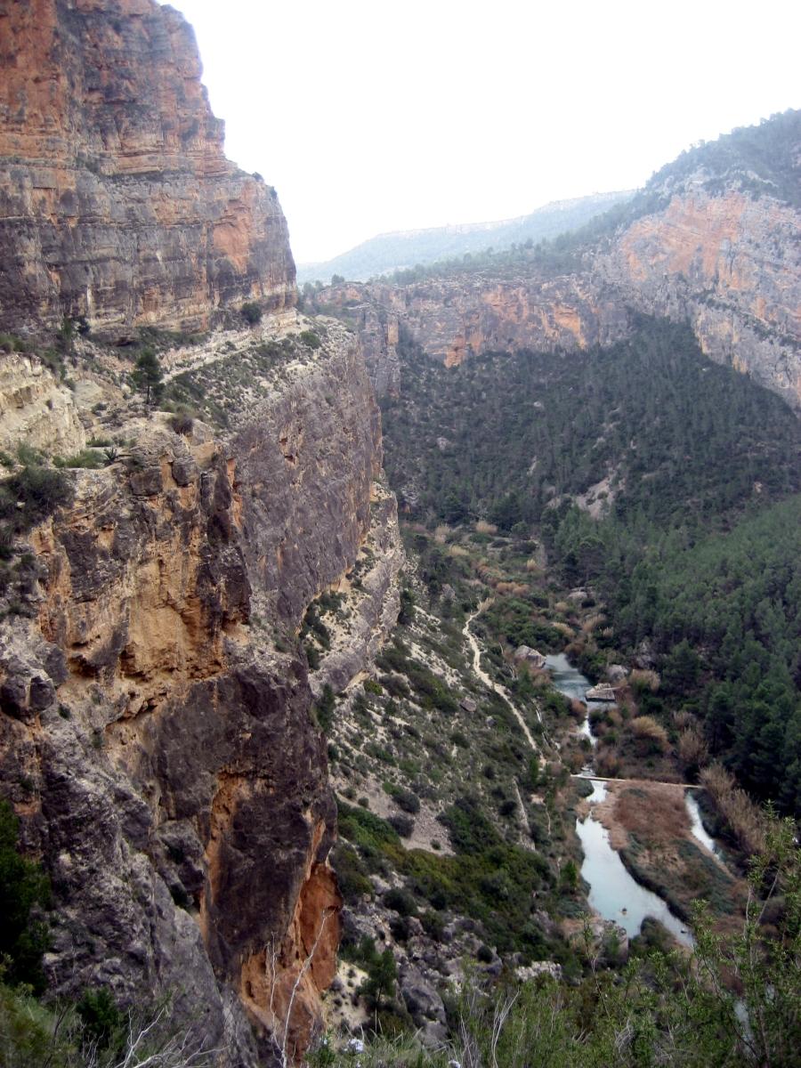 Cañones del río Jucar - Cañón de Jalance - Cañón de El Molinar