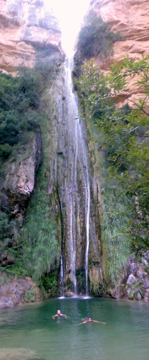 Montanejos - Barranco de la Maimona - Salto del chorrador de Zucaina