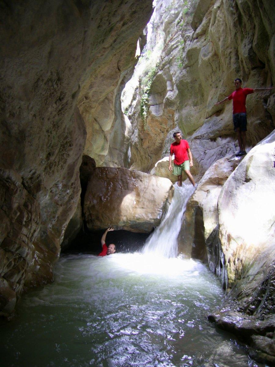 Losilla - Las Torcas - El cañón del río Arcos