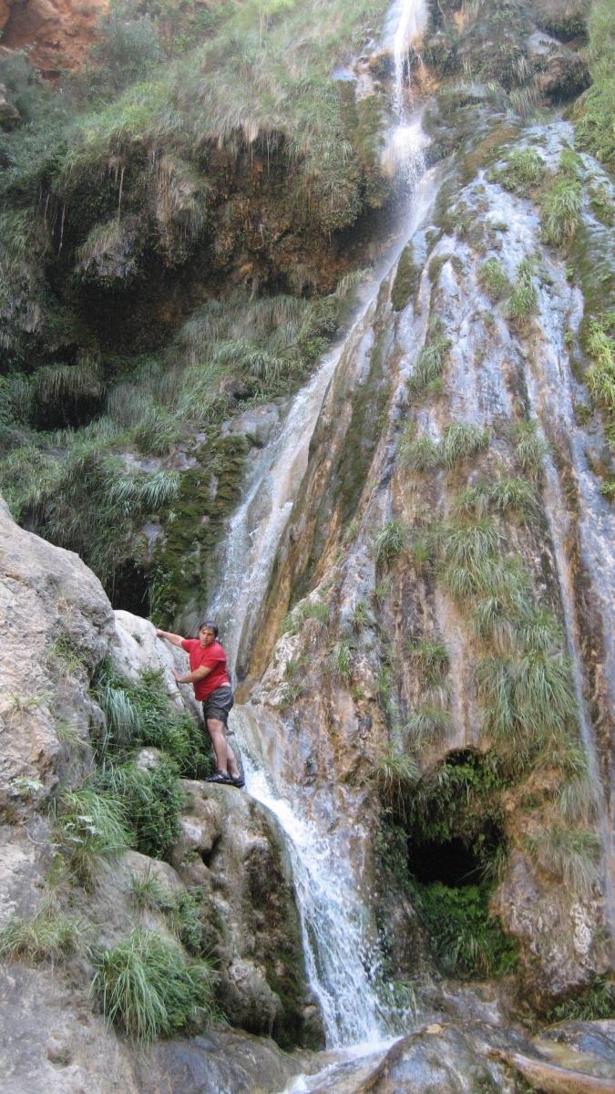 El Chorrador de Otonel y el cañón del Jucar en Dos Aguas