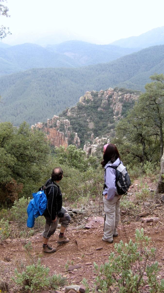 Los Organos de Benitandús y el castillo de Mauz - Alcudia de Veo - Sueras