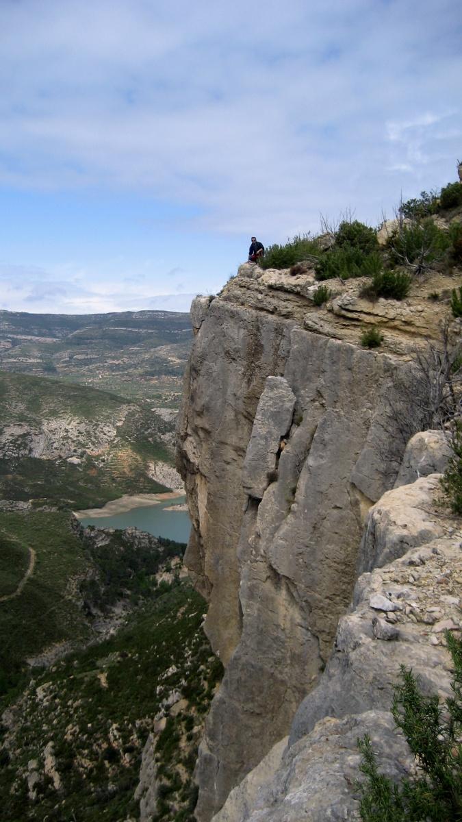 Chera - El Barranco de la Hoz y la cascada de la Garita