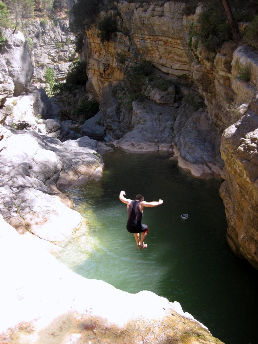 El Barranco de la Maimona (Completa) Travesía Los Calpes - Montanejos