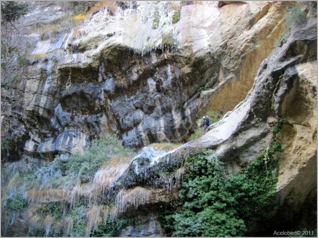 Barranco del Salt y cascada del Salt de Robert. Fuente: acelobert2010.files.wordpress.com