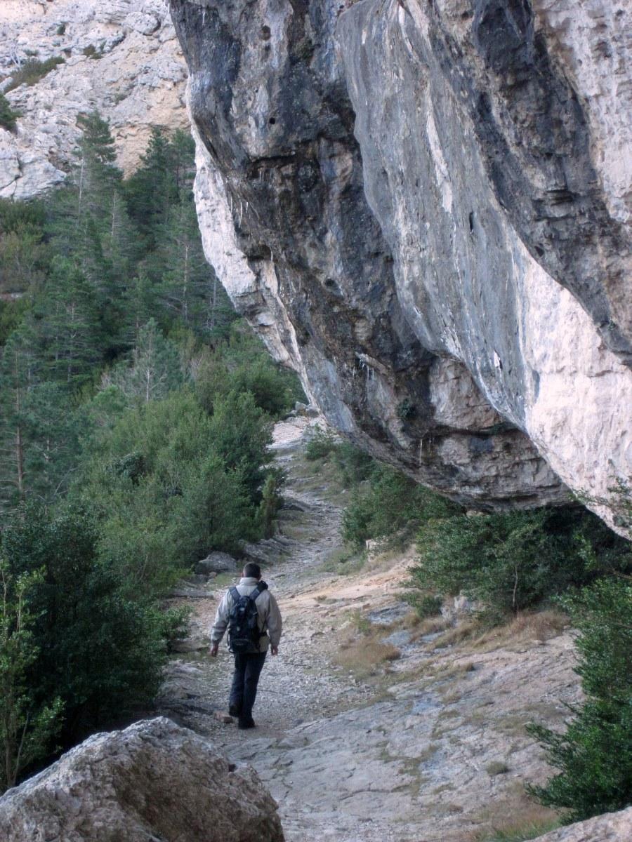 Fredes - El Barranc del Salt y el Portell del Infern
