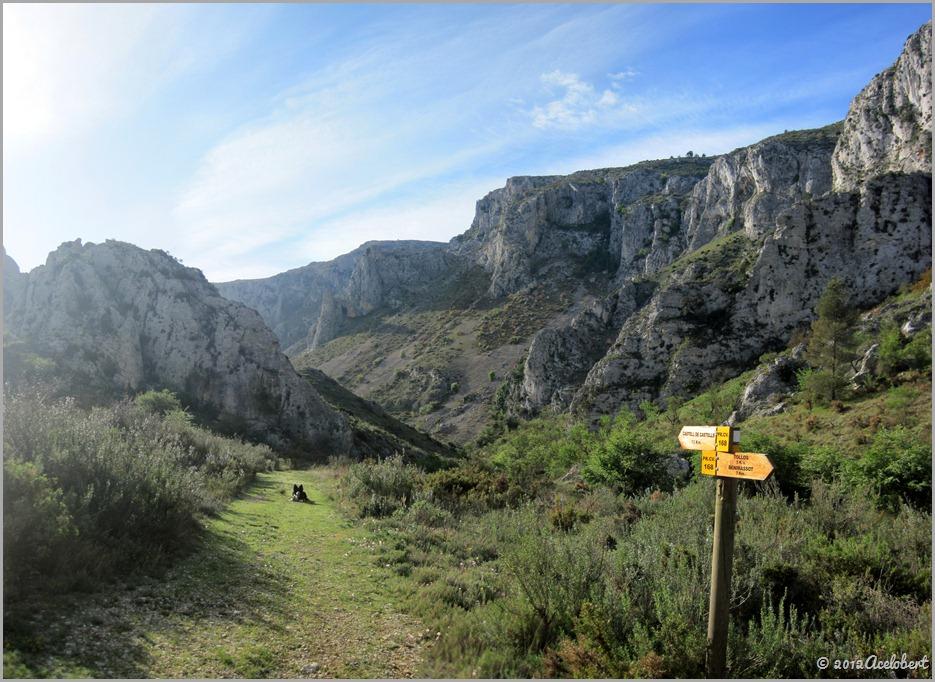 Barranco de Malafi - Inicio del Barranco