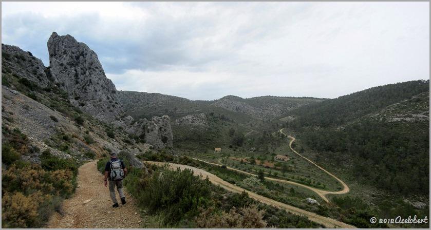 Bajada de la Sierra al inicio del Barranco de Malafí