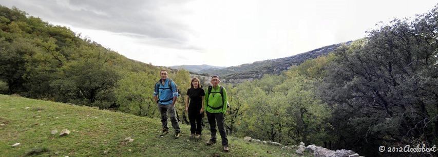 Barranc dels Horts - Senda de subida al Mas de la Belladona