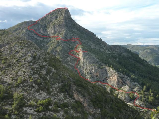 Serra Falconera - Cova de la Recambra y Cova de l'Abisme