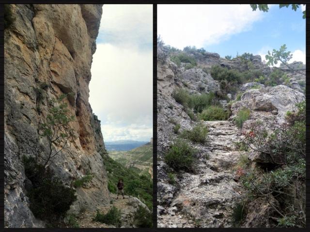 Antiguo camino de herradura en Cortes de Pallás